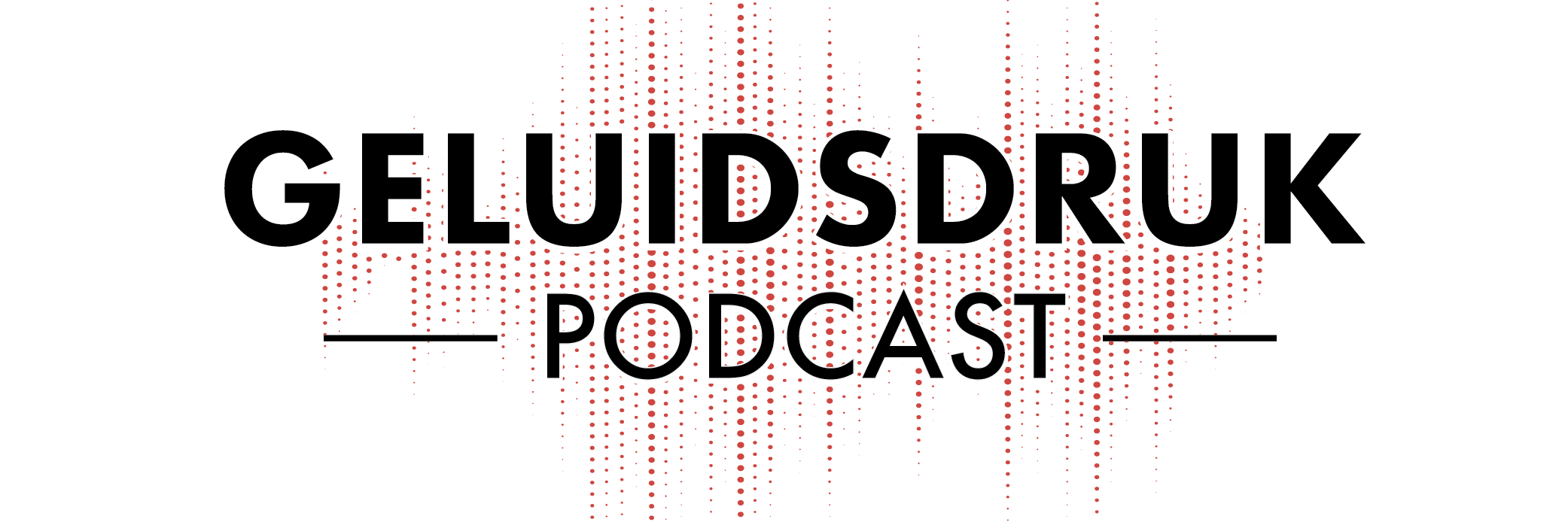 Logo for Geluidsdruk Podcast